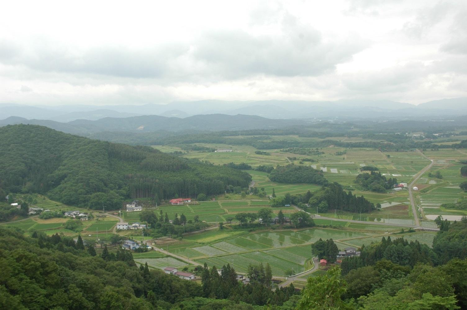 国見山からの眺望